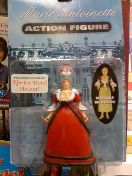 The Marie Antoinette Action Figure Lying For A Living
