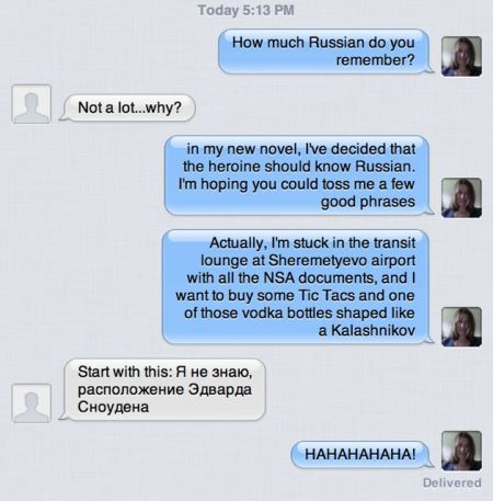 Chat about Russian