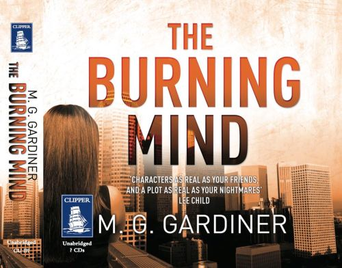 The Burning Mind_M. G. Gardiner - UK audio