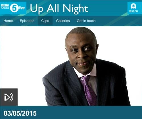 BBC Radio 5 Live Up All Night