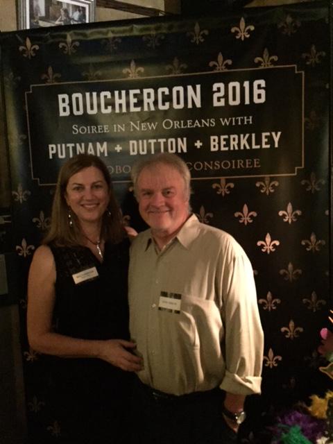 Bouchercon party